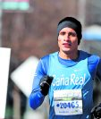 Mario Pacay, expresa su felicidad después de haber participado en el Medio Maratón de Houston. (Foto Prensa Libre: Hemeroteca PL)