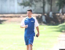 El lateral izquierdo de la Selección de Guatemala, Stefano Cincotta, no estará en el amistoso internacional contra Nicaragua (Foto Prensa Libre: Edwin Fajardo)