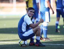 El atacante Luis Martínez espera volver aportarle frescura y dinamismo al frente de ataque de la Bicolor (Foto Prensa Libre: Edwin Fajardo)