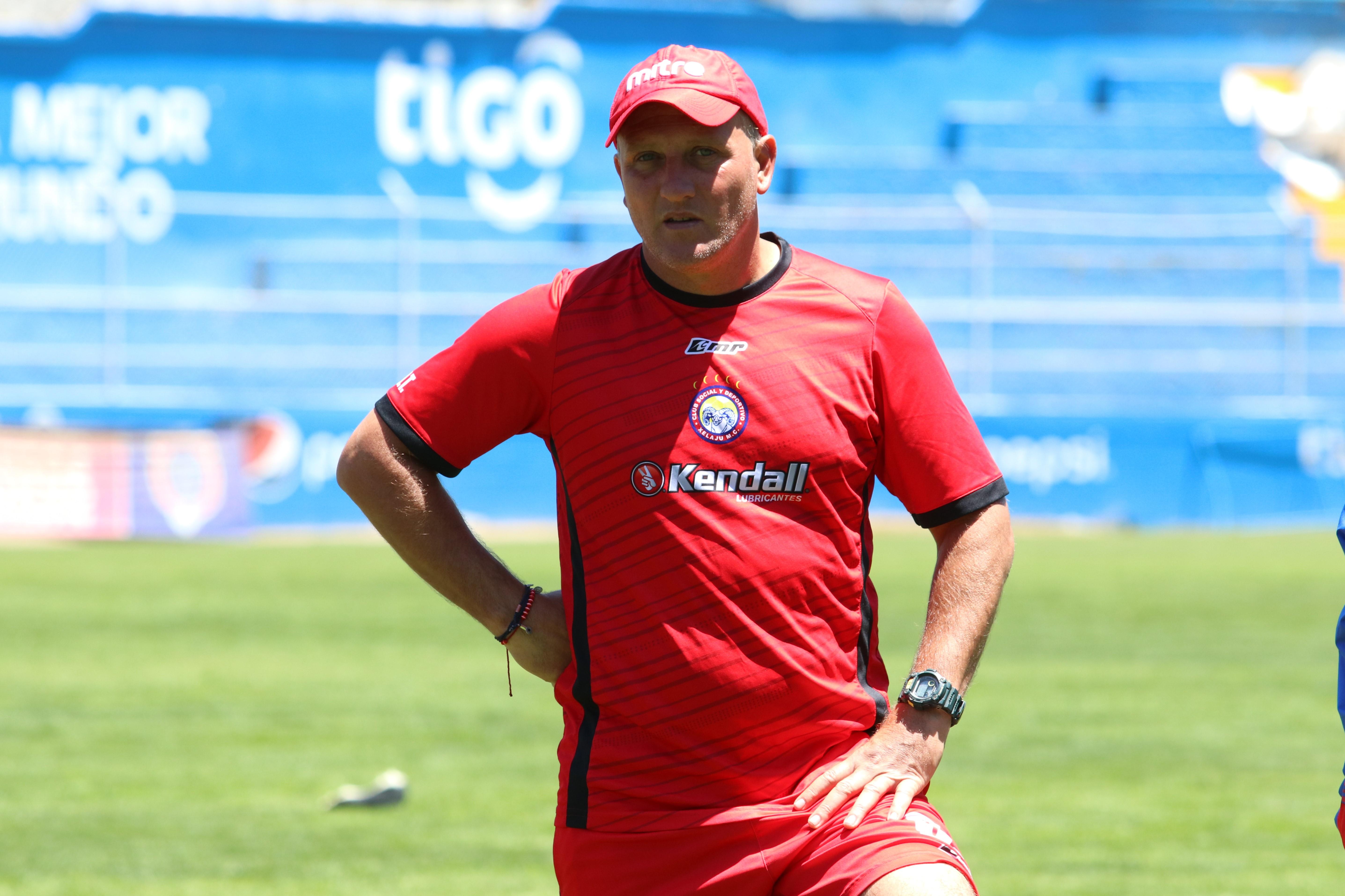 Ramiro Cepeda confía que Xelajú puede regresar con los tres puntos de su visita a Sanarate. (Foto Prensa Libre: Prensa Libre)