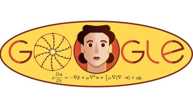 El Doodle de Google homenajea a Olga Ladyzhenskaya e incluye la ecuación Navier-Stokes, por la que es conocida (GOOGLE DOODLE)