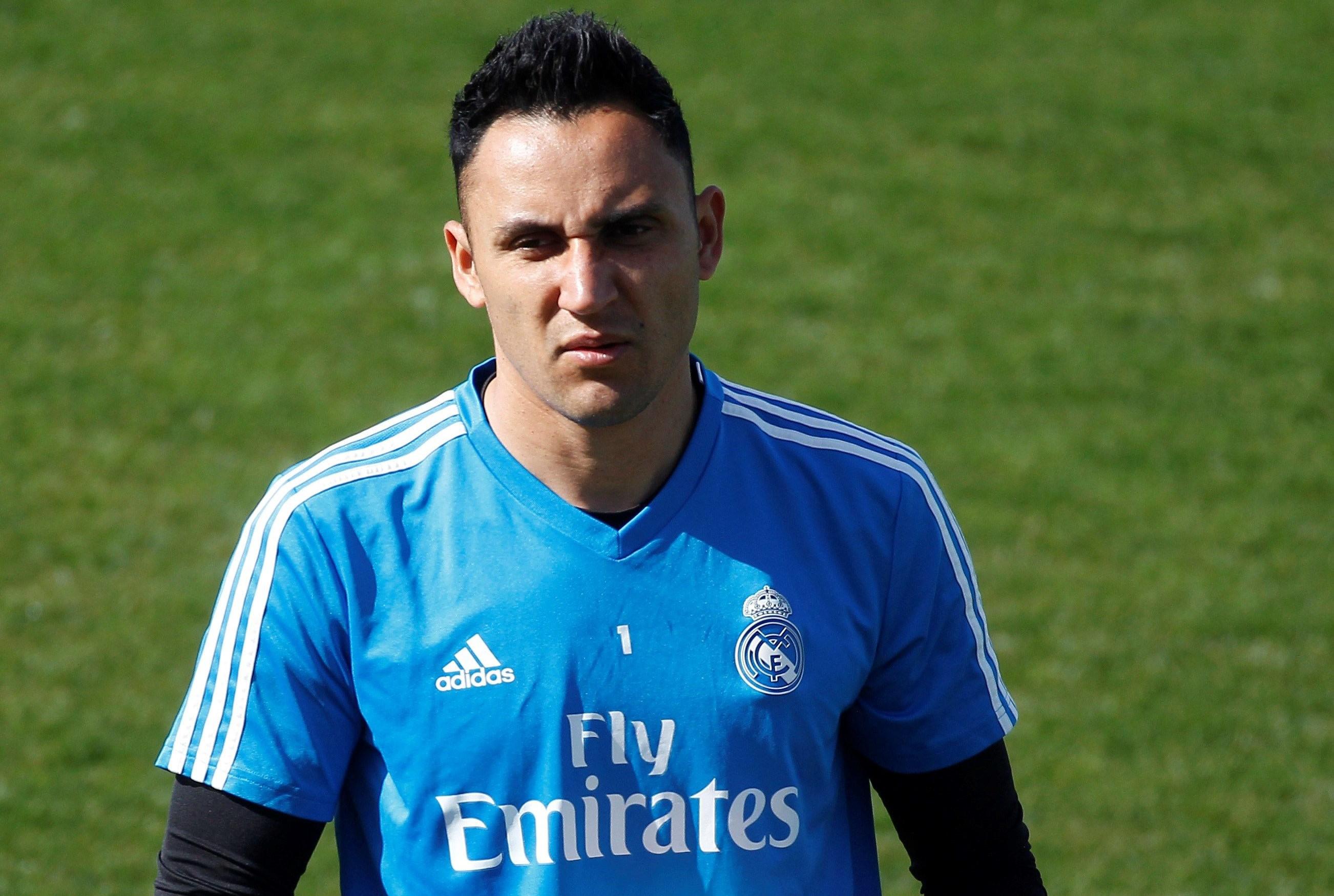 El portero costarricense del Real Madrid Keylor Navas. (Foto Prensa Libre: EFE)