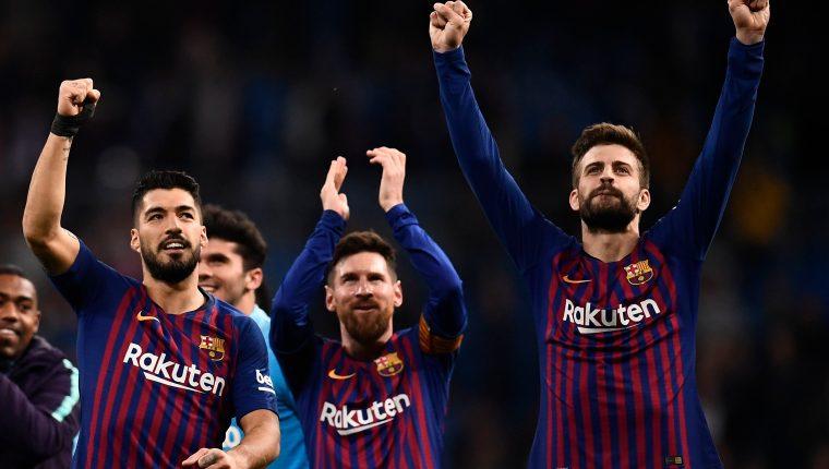 El Barcelona recibirá este sábado al Rayo Vallecano, a las 11.30 horas, donde buscará una nueva victoria. (Foto Prensa Libre: AFP).