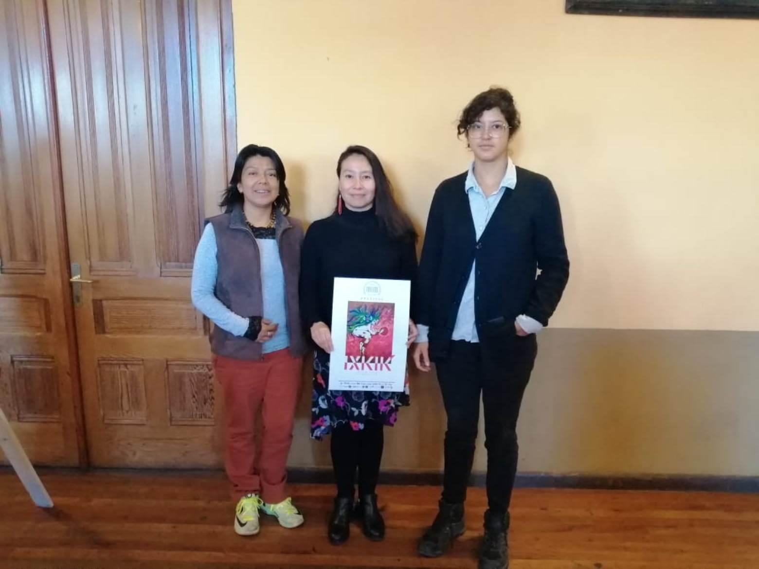 Organizadoras agradecieron a los patrocinadores el apoyo para lograr el festival. (Foto Prensa Libre: María Longo)