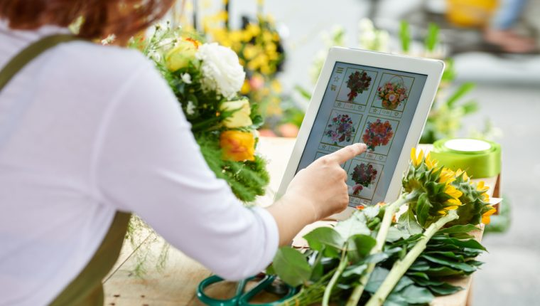 Floristería. Foto, Shutterstock