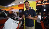 Dany 'el Indestructible' Torres espera dar un espectáculo en Cardales de Cayalá. (Foto Prensa Libre: Edwin Fajardo)