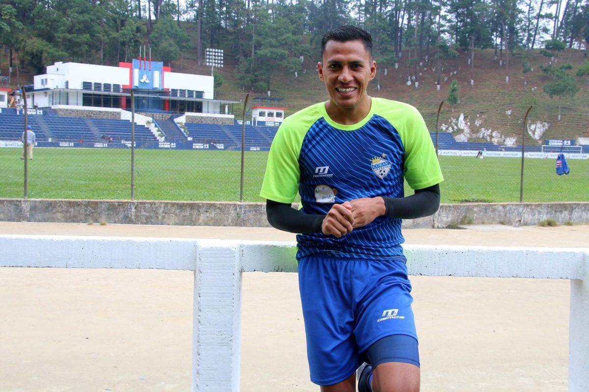 """Gerson Tinoco: """"Tengo que pelear un puesto y solo se puede lograr trabajando mejor"""""""