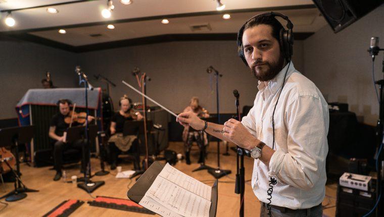 """Jose """"Chipi"""" Estrada busca una carrera como compositor en el cine (Foto Prensa Libre: Cortesía)."""