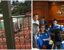 La Selección Femenina Sub 20 cambia de hotel en Nicaragua. (Foto Prensa Libre: Redes)