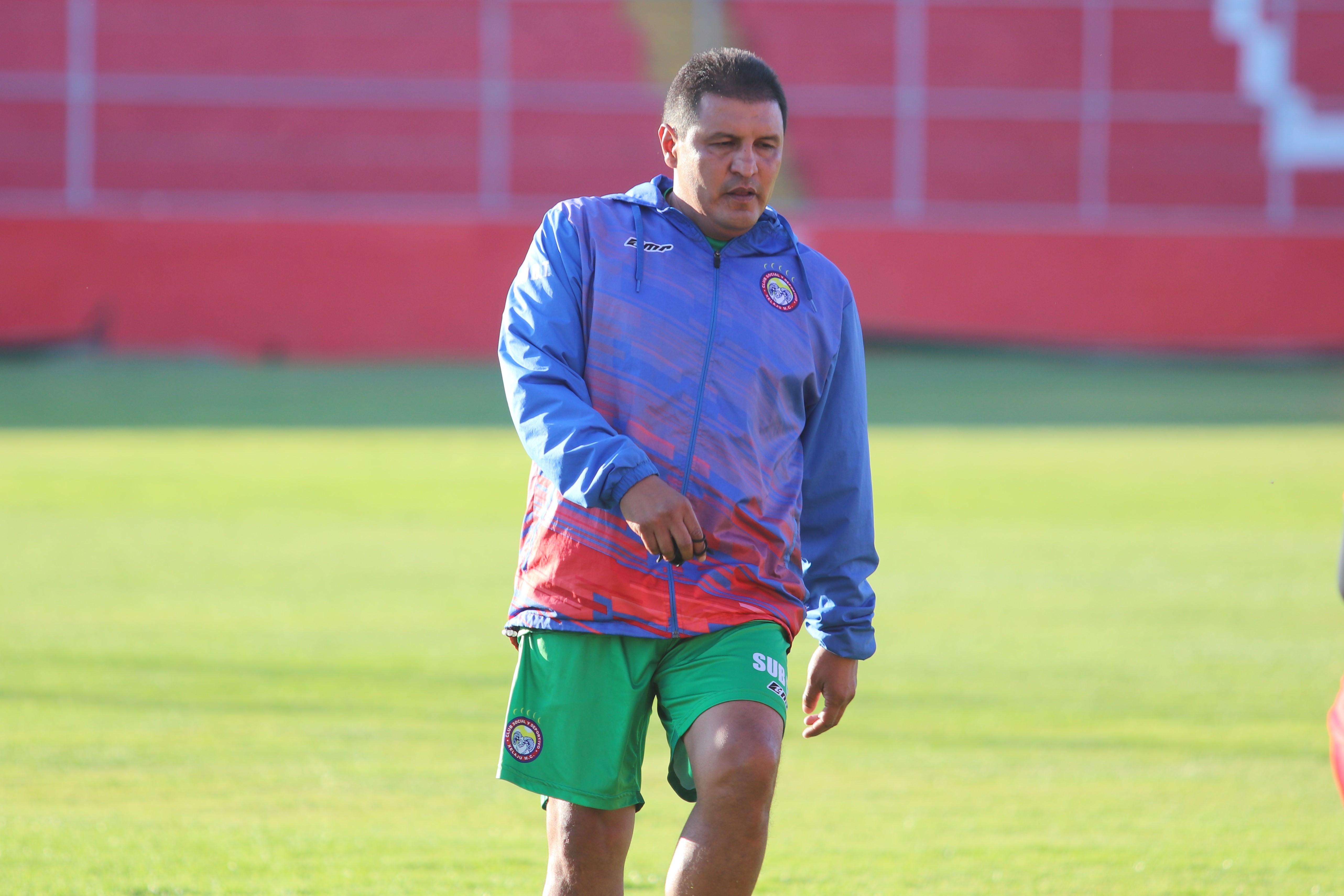 Walter Horacio González tendrá su primer gran reto al frente de un equipo de Liga Nacional. (Foto Prensa Libre: Raúl Juárez)