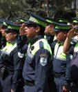 Hasta el momento son 96 agentes que controlan el tránsito en Xela. (Foto Prensa Libre: Raúl Juárez)