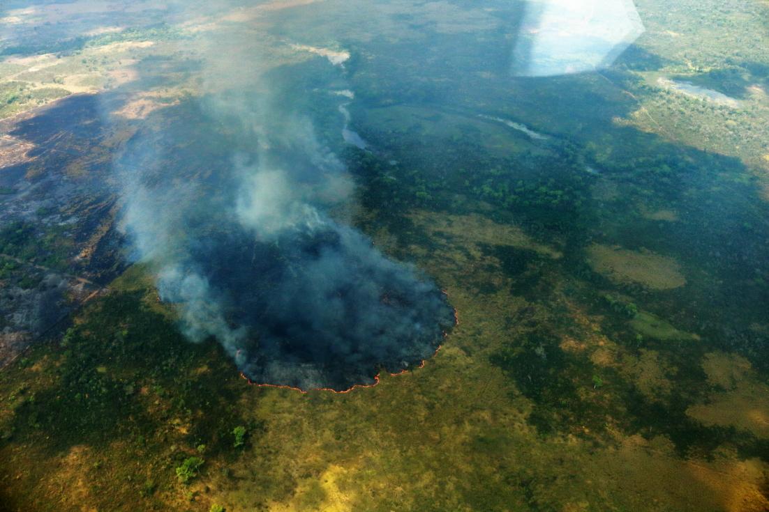 Incendios forestales no dan tregua a la Biosfera Maya