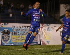 El brasileño Janderson Pereira suma ocho goles en el Clausura 2019. (Foto Prensa Libre: Eduardo Sam Chun)