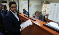 José Echeverría, en representación del Movimiento Cívico Nacional, han tomado acciones, incluso penales en temas coyunturales del país. (Foto Prensa Libre: Hemeroteca PL)