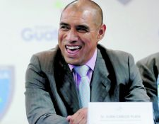 El exjugador y ahora dirigente Juan Carlos Plata será uno de los nuevos asesores de la International Football Association Board (Foto Prensa Libre: Hemeroteca PL)