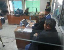 El juez Eduardo Cojulún, procesó a Luis Gómez después de dos días de audiencia. (Foto Prensa Libre: Kenneth Monzón)