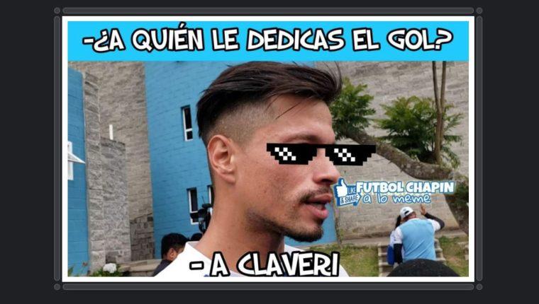Este es uno de los memes que dejó el partido. (Foto Prensa Libre: Twitter)