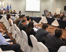 Reunión para el apoyo al diseño e implementación de la plataforma digital de comercio centroamericana. (Foto Prensa Libre: Cortesía)