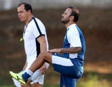 José Manuel Contreras liderará a la Selección Nacional de futbol en su  amistoso contra Costa Rica (Foto Prensa Libre: Hemeroteca PL)