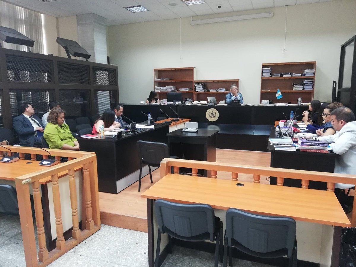 El caso Manipulación de Justicia se conoce en el Juzgado de Mayor Riesgo B. (Foto Prensa Libre: Kenneth Monzón)