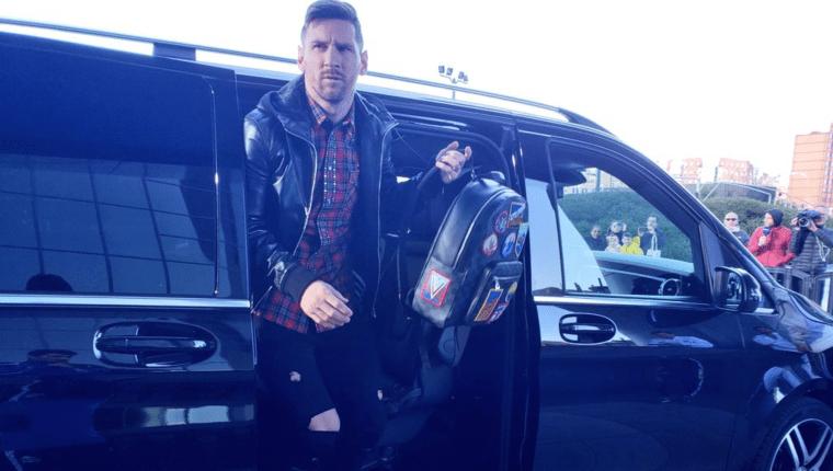 Lionel  Messi se une a la selección de Argentina para los amistosos contra Venezuela y Marruecos. Foto Prensa Libre: @Argentina)