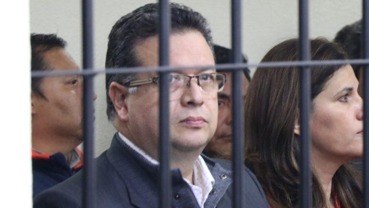 Jorge Barrientos fue capturado el mismo día que su esposa y dos de sus hijas, las tres obtuvieron una falta de merito. (Foto Prensa Libre María Longo) .