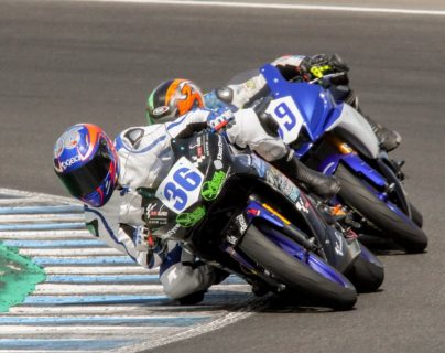 Marcos Garrido Beltrán era una joven promesa del motociclismo. (Foto Prensa Libre: Redes)