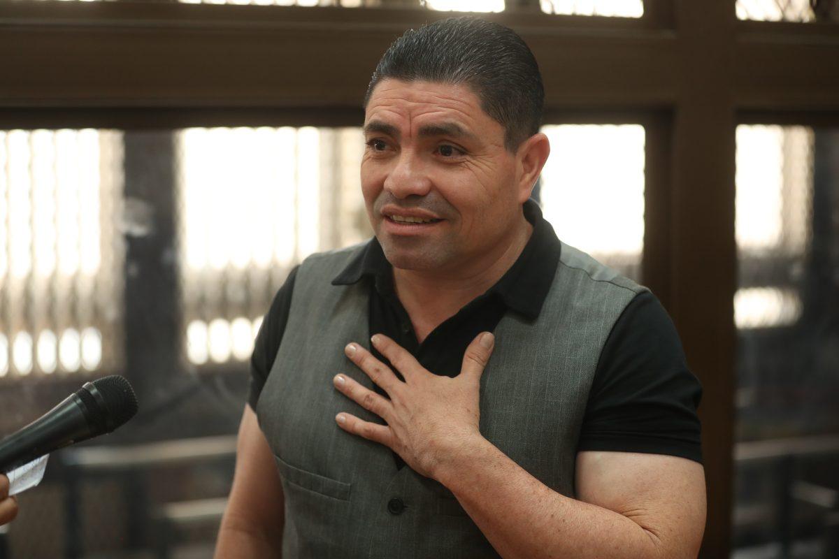 El Taquero asegura que en 2017 lo visitó en la cárcel Rogelio Ramírez, exfuncionario de la Cicig