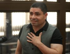 Marvin Montiel Marin, el Taquero, asegura que el exinvestigador de la Cicig, Rogelio Ramírez lo visitó en la cárcel. (Foto Prensa Libre: Esbin García)