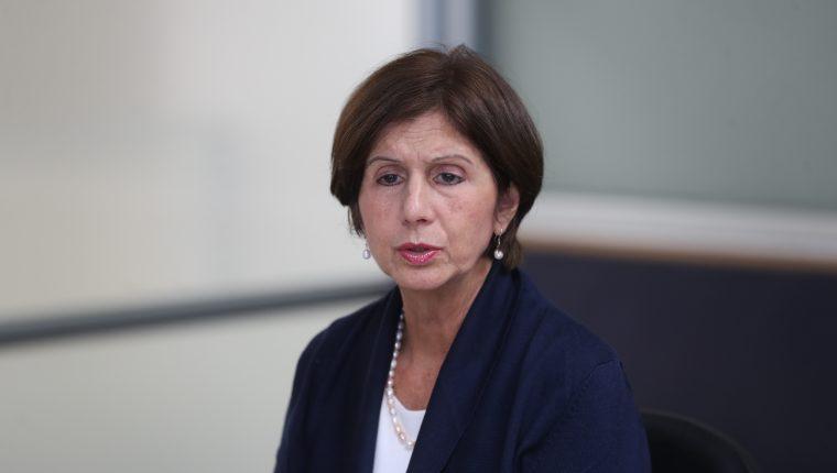 Maria Teresa Romero, representante del presidente Juan Guaidó en Guatemala. (Foto Prensa Libre: Hemeroteca PL)