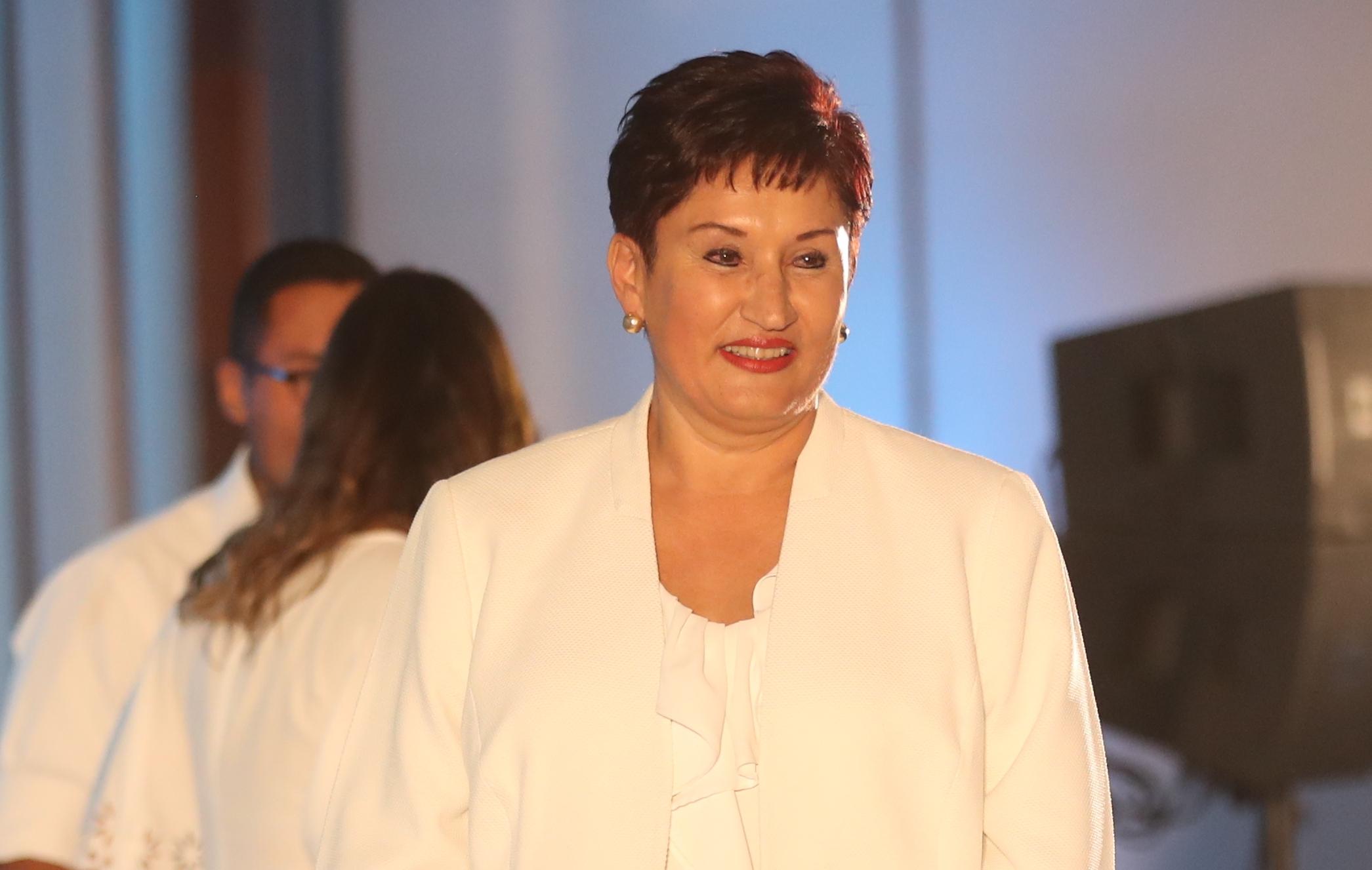 Thelma Aldana, candidata presidencial con orden de captura.  (Foto Prensa Libre: Hemeroteca PL)