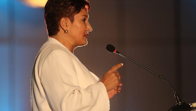 La exfiscal General, Thelma Aldana, está señalada de haber avalado una contratación irregular. (Foto Prensa Libre: Hemeroteca PL)