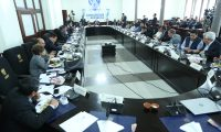 Reuni—n de jefes de bloque del Congreso de la Repœblica, definen agenda legislativa.                                                                                             Fotograf'a Esbin Garcia 11-03- 2019.