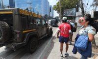 M‡s de 60 jeeps J8 donados por el Gobierno de EE. UU. fueron llevados este viernes a la Fuerza AŽrea Guatemalteca.   Erick Avila                   14/03/2019
