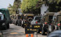 Jeep J8 fueron concentrados en la Fuerza Aérea por el Gobierno (Foto Prensa Libre: Hemeroteca PL)