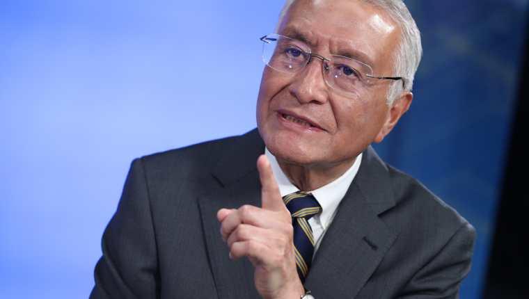 Julio Solórzano, presidente del Tribunal Supremo Electoral. (Foto Prensa Libre: Hemeroteca PL)