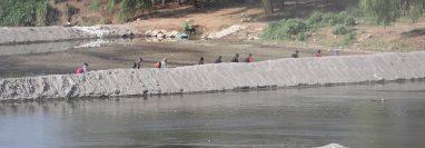 Migrantes cruzan la frontera hacia Mexico en busca de trabajo la frontera Tecun Um‡n, es un lugar donde se puede cruzar al vecino pa's.   Erick Avila                   20/03/2019
