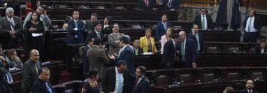 El pleno del Congreso de la próxima legislatura estará integrado en su mayoría por diputados que no fueron reelectos. (Foto Prensa Libre: Hemeroteca PL)
