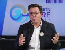 Julio Héctor Estrada busca la presidencia por primera vez por el partido CREO. (Foto Prensa Libre: Hemeroteca PL)