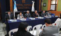 El TSE garantiza transparencia del proceso electoral. (Foto Prensa Libre: Érick Ávila)