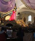 El anda de Jesús de los Milagros lista para su procesión del jueves 27 de febrero de 2020. (Foto Prensa Libre: Óscar Rivas