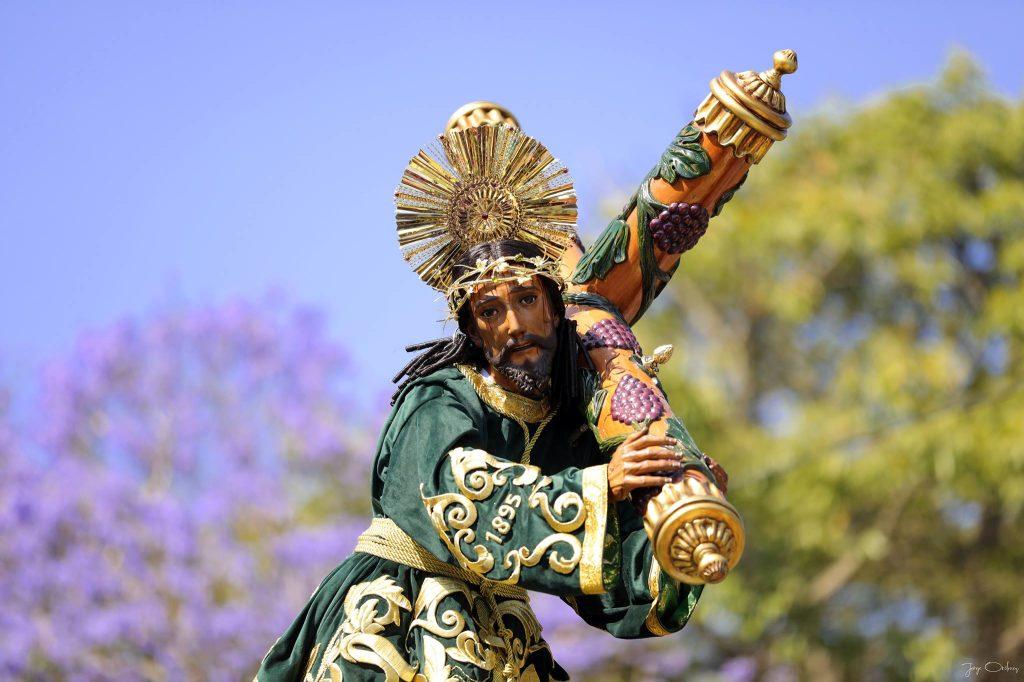 """El nazareno es conocido también con el nombre de """"Dulce Rabí"""". Foto Prensa Libre: Jorge Ordóñez"""