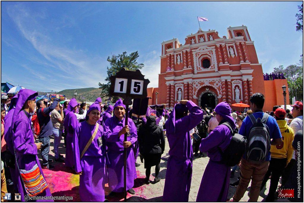 La procesión de Jesús Nazareno de Jocotenango es la tradicional del tercer domingo de Cuaresma en Sacatepéquez. Foto Prensa Libre: Roberto Masaya