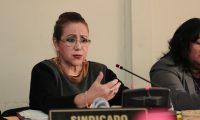 La magistrada separada de la Corte Suprema de Justicia, Blanca Stalling. (Foto Prensa Libre: Hemeroteca PL)