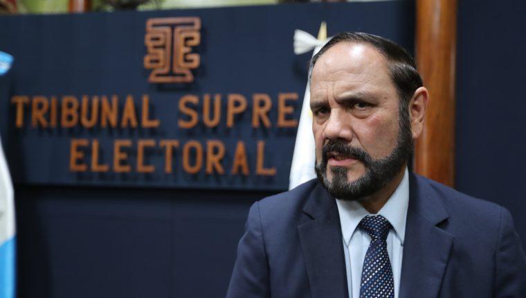 Leopoldo Guerra, director del Registro de Ciudadanos del Tribunal Supremo Electoral. (Foto Prensa Libre: Hemeroteca PL)