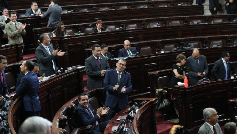 Sesi—n plenaria en el Congreso de la Repœblica donde continua  interpelaci—n del ministro de desarrollo Carlo Velazquez.   Erick Avila                   27/03/2019