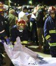 Nahualá está de luto ante la tragedia que cobró al menos 18 vidas. (Foto Prensa Libre: Carlos Hernández Ovalle)