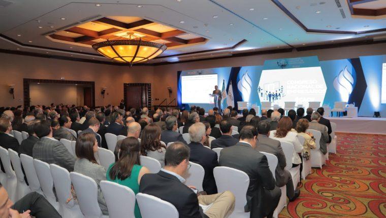 Empresarios presentan plan en pro de la economía del país. (Foto: Cortesía Cacif)