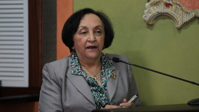Raquel Zelaya, directora de Asíes. (Foto: Hemeroteca PL)