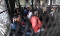 Juzgado D de Mayor Riesgo en audiencia de apertura de debate contra 18 implicados en el caso Mesoamerica.  foto por Carlos Hern‡ndez Ovalle 11/03/2019